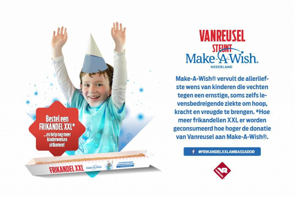 Help ons Make-A-Wish te steunen!